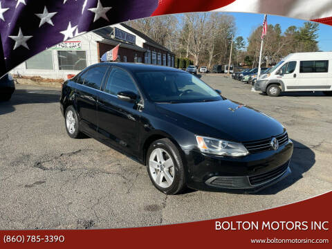 2014 Volkswagen Jetta for sale at BOLTON MOTORS INC in Bolton CT