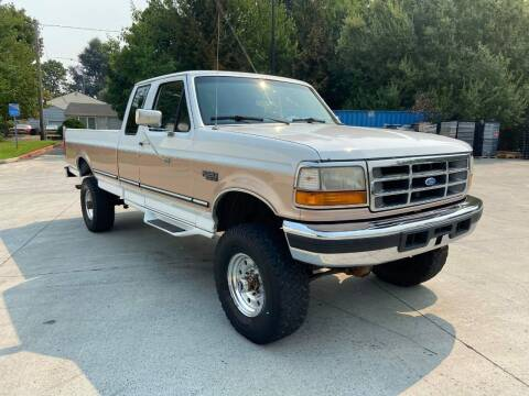 1996 Ford F-250 for sale at RICKIES AUTO, LLC. in Portland OR