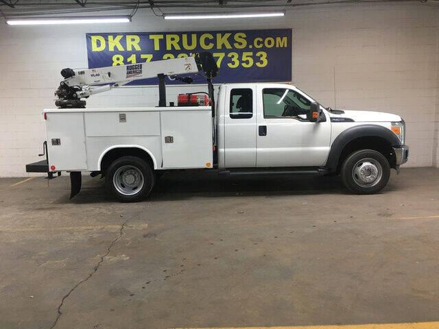2012 Ford F-450 Super Duty for sale at DKR Trucks in Arlington TX