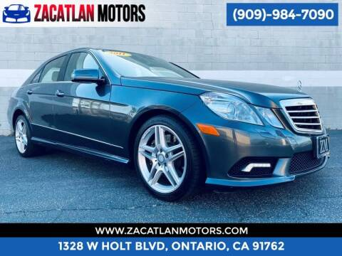 2011 Mercedes-Benz E-Class for sale at Ontario Auto Square in Ontario CA