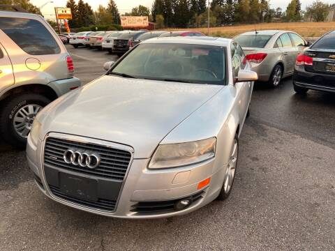 2005 Audi A6 for sale at BELOW BOOK AUTO SALES in Idaho Falls ID