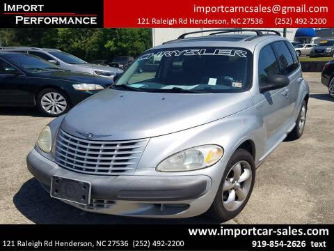 2001 Chrysler PT Cruiser for sale at Import Performance Sales - Henderson in Henderson NC