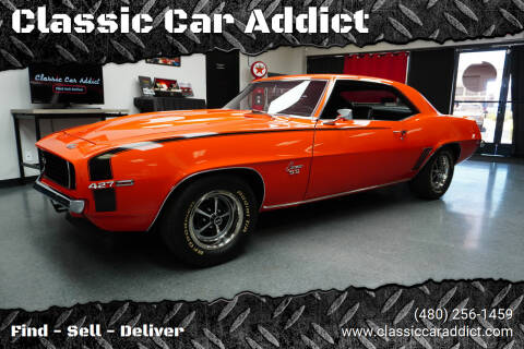 1969 Chevrolet Camaro for sale at Classic Car Addict in Mesa AZ
