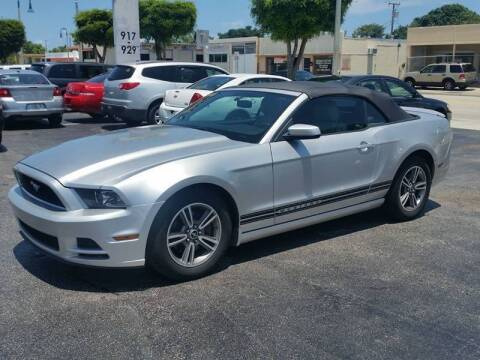2013 Ford Mustang for sale at KK Car Co Inc in Lake Worth FL