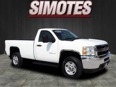 2012 Chevrolet Silverado 2500HD for sale at SIMOTES MOTORS in Minooka IL