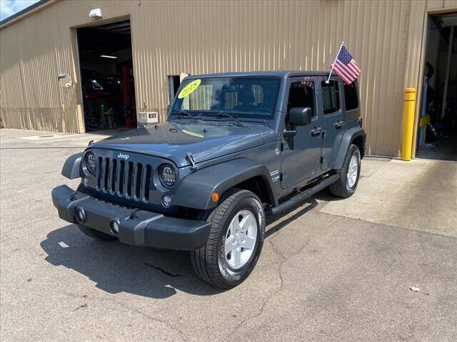 2018 Jeep Wrangler JK Unlimited for sale at Atchinson Ford Sales Inc in Belleville MI