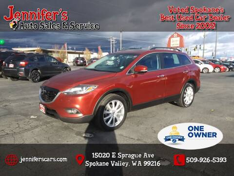 2014 Mazda CX-9 for sale at Jennifer's Auto Sales in Spokane Valley WA