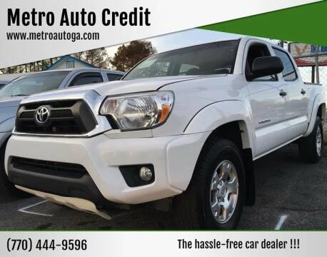 2015 Toyota Tacoma for sale at Used Imports Auto - Metro Auto Credit in Smyrna GA