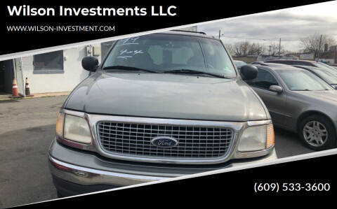 1999 Ford Expedition for sale at Wilson Investments LLC in Ewing NJ
