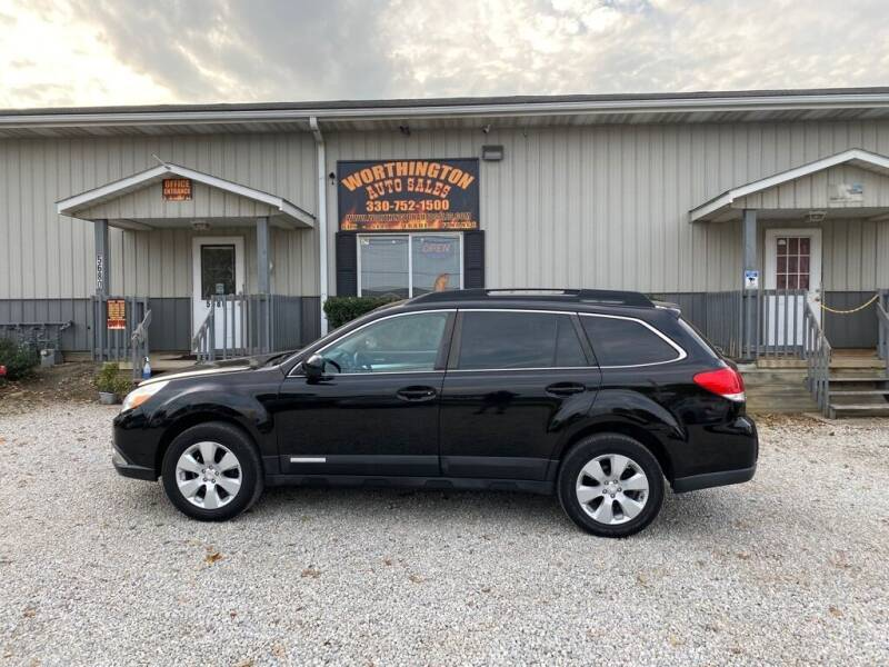 2012 Subaru Outback for sale at Worthington Auto Sales in Wooster OH