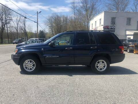2004 Jeep Grand Cherokee for sale at DND AUTO GROUP in Belvidere NJ