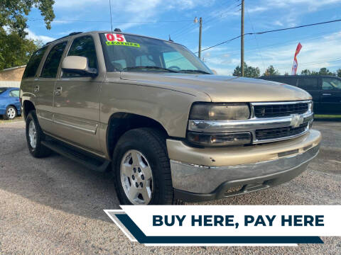 2005 Chevrolet Tahoe for sale at Harry's Auto Sales, LLC in Goose Creek SC