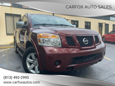 2010 Nissan Armada for sale at Carfox Auto Sales in Tampa FL