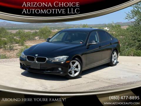 2013 BMW 3 Series for sale at Arizona Choice Automotive LLC in Mesa AZ