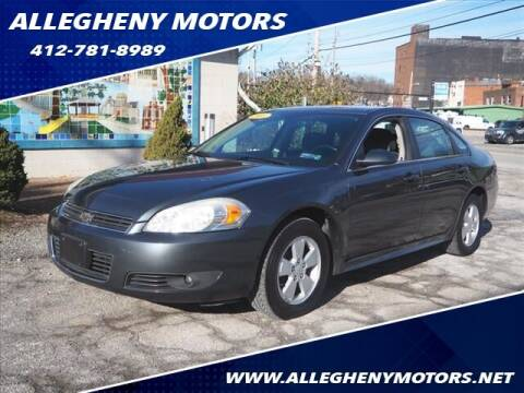 2011 Chevrolet Impala for sale at Allegheny Motors in Pittsburgh PA