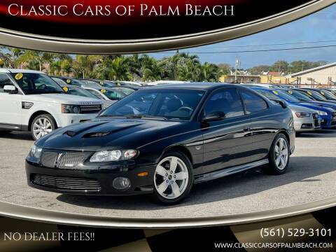 2006 Pontiac GTO for sale at Classic Cars of Palm Beach in Jupiter FL