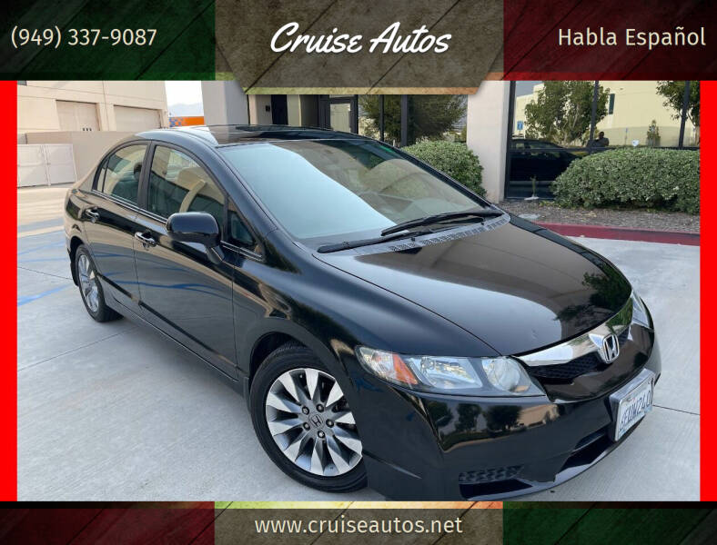 2009 Honda Civic for sale at Cruise Autos in Corona CA