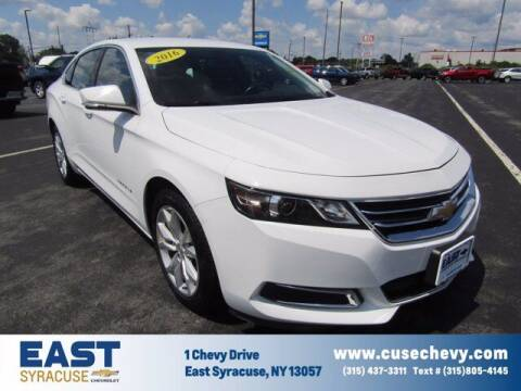 2016 Chevrolet Impala for sale at East Syracuse Performance Sales & Service in Syracuse NY
