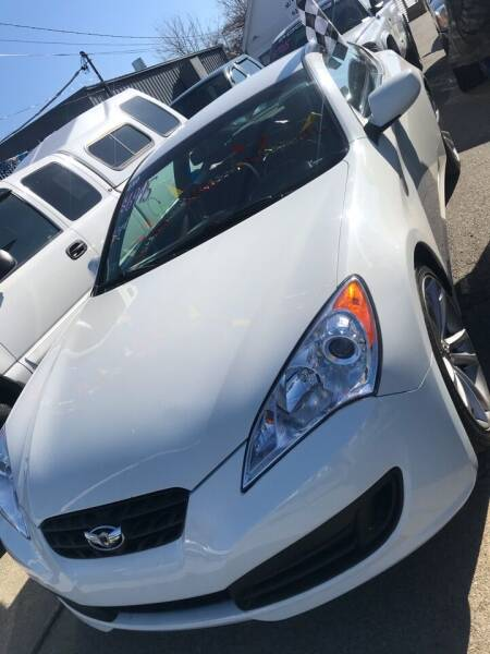 2010 Hyundai Genesis Coupe for sale at Bob Luongo's Auto Sales in Fall River MA