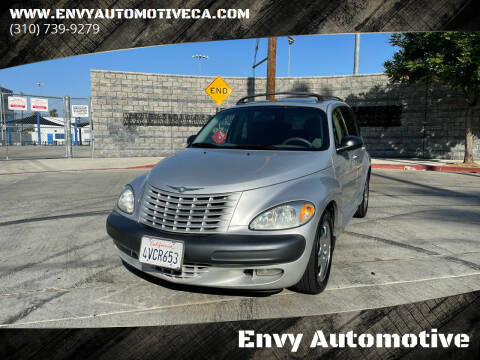 2002 Chrysler PT Cruiser for sale at Envy Automotive in Studio City CA