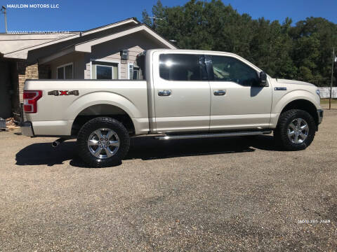 2018 Ford F-150 for sale at MAULDIN MOTORS LLC in Sumrall MS