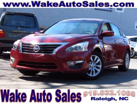 2013 Nissan Altima for sale at Wake Auto Sales Inc in Raleigh NC