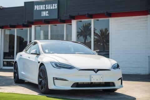 2021 Tesla Model S for sale at Prime Sales in Huntington Beach CA