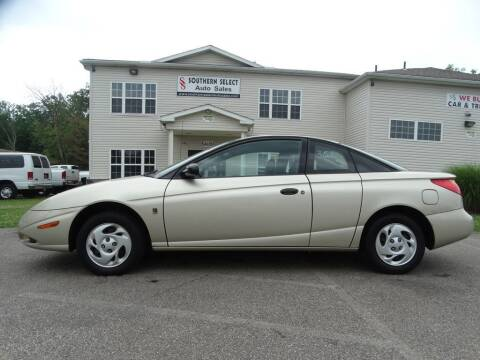 2002 Saturn S-Series for sale at SOUTHERN SELECT AUTO SALES in Medina OH