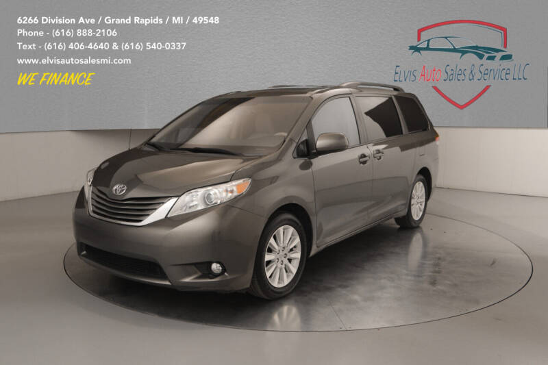2012 Toyota Sienna for sale at Elvis Auto Sales LLC in Grand Rapids MI