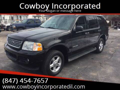 2004 Ford Explorer for sale at Cowboy Incorporated in Waukegan IL