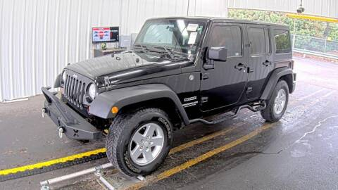 2011 Jeep Wrangler Unlimited for sale at HERMANOS SANCHEZ AUTO SALES LLC in Dallas TX