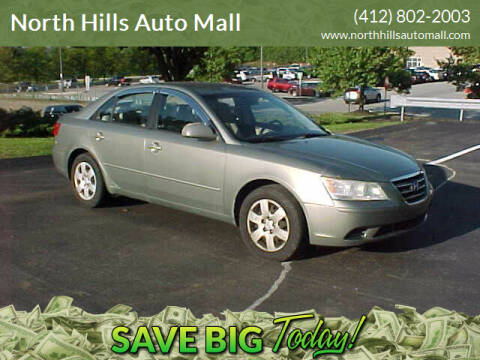 2009 Hyundai Sonata for sale at North Hills Auto Mall in Pittsburgh PA