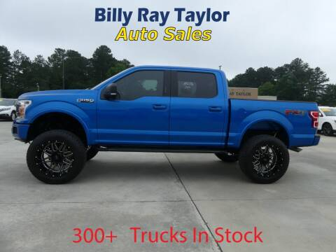 2019 Ford F-150 for sale at Billy Ray Taylor Auto Sales in Cullman AL