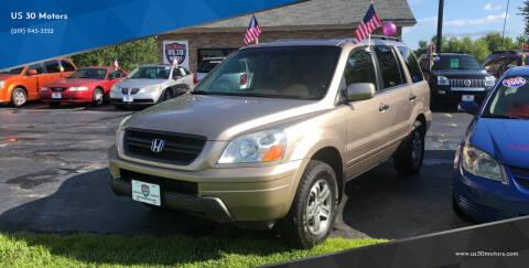 2005 Honda Pilot for sale at US 30 Motors in Merrillville IN