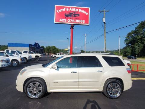 2012 GMC Acadia for sale at Ford's Auto Sales in Kingsport TN