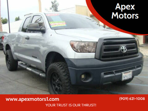 2010 Toyota Tundra for sale at Apex Motors in Montclair CA