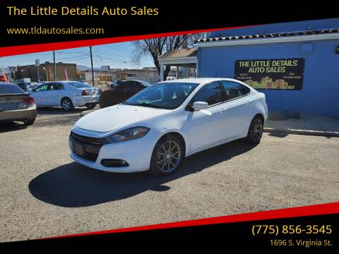 2014 Dodge Dart for sale at The Little Details Auto Sales in Reno NV