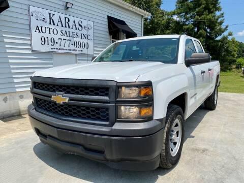 2015 Chevrolet Silverado 1500 for sale at Karas Auto Sales Inc. in Sanford NC