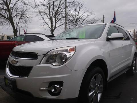2012 Chevrolet Equinox for sale at Oak Hill Auto Sales of Wooster, LLC in Wooster OH