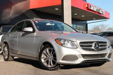 2015 Mercedes-Benz C-Class for sale at Gravity Autos Roswell in Roswell GA