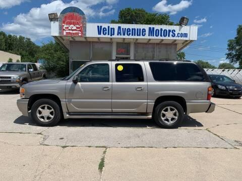 2003 GMC Yukon XL for sale at Velp Avenue Motors LLC in Green Bay WI