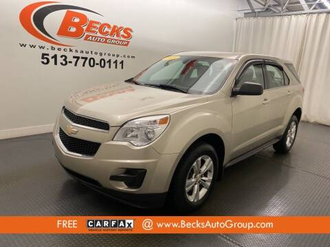 2015 Chevrolet Equinox for sale at Becks Auto Group in Mason OH