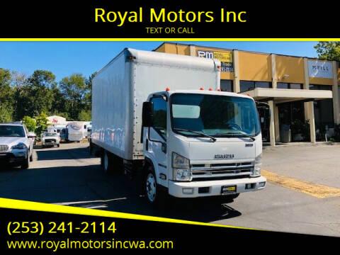 2015 Isuzu NQR for sale at Royal Motors Inc in Kent WA