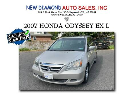 2007 Honda Odyssey for sale at New Diamond Auto Sales, INC in West Collingswood Heights NJ