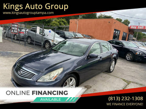 2011 Infiniti G25 Sedan for sale at Kings Auto Group in Tampa FL