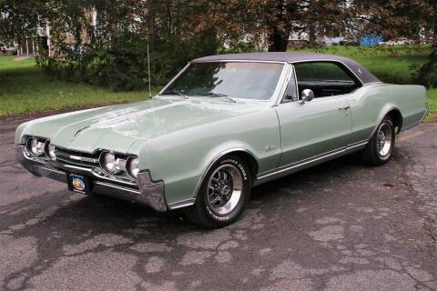 1967 Oldsmobile Cutlass for sale at Great Lakes Classic Cars & Detail Shop in Hilton NY