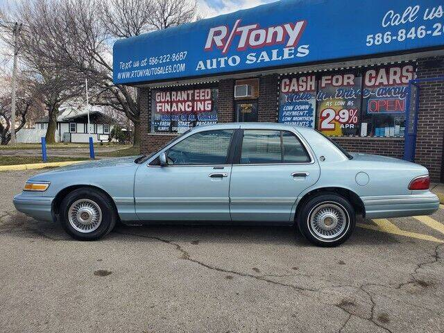 1995 Mercury Grand Marquis for sale at R Tony Auto Sales in Clinton Township MI