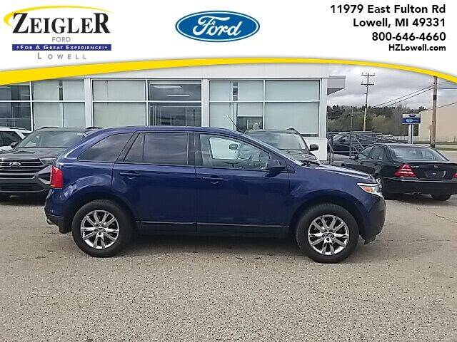 2012 Ford Edge for sale at Zeigler Ford of Plainwell- Jeff Bishop in Plainwell MI
