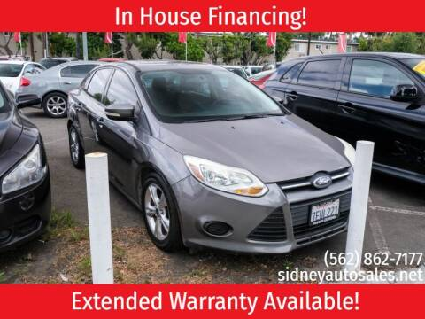 2014 Ford Focus for sale at Sidney Auto Sales in Downey CA