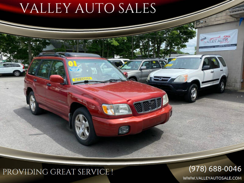 2001 Subaru Forester for sale at VALLEY AUTO SALES in Methuen MA